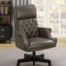 Bovill by Furniture of America CM-FC644GY Office Chair