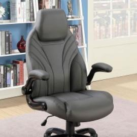 Balta by Furniture of America CM-FC659GY Office Chair