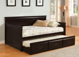 Sahara Collection 1637EX Espresso Twin Daybed with Trundle