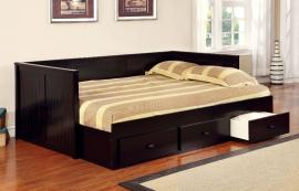 Wolford Collection 1927BK Black Full Daybed with Drawers