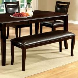 Woodside by Furniture of America CM3024BN Dining Bench