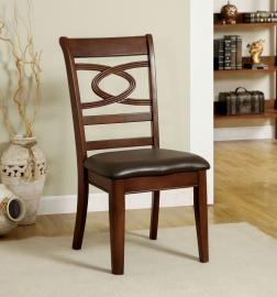 Carlton by Furniture of America CM3149SC Chair Set of 2
