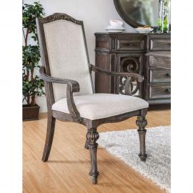 Arcadia by Furniture of America CM3150AC Arm Chair Set of 2