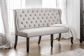 Sania I by Furniture of America CM3324BK-BNL Bench