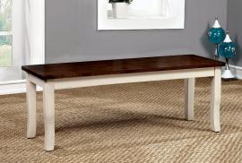 Dover by Furniture of America CM3326WC-BN Bench
