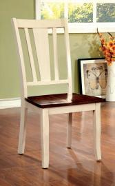 Dover by Furniture of America CM3326WC-SC Chair Set of 2