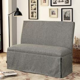 Kortrijk I by Furniture of America CM3341LV-GY Bench