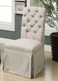 Payson II by Furniture of America CM3342SC-BG Chair Set of 2