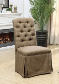 Payson II by Furniture of America CM3342SC-BR Chair Set of 2