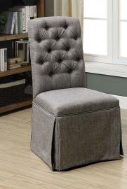 Payson II by Furniture of America CM3342SC-GY Chair Set of 2