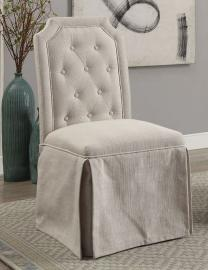 New Ross By Furniture of America CM3343SC-BG Dining Chair Set of 2