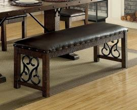 Paulina by Furniture of America CM3465BN Bench