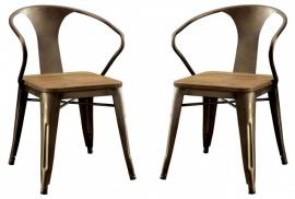 Copper I by Furniture of America CM3529SC Chair Set of 2