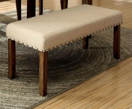 Melston I by Furniture of America CM3531BN Bench