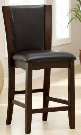 Astoria II by Furniture of America CM3710PC Counter Height Bar Stool Set of 2