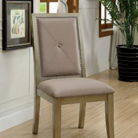 Echo by Furniture of America CM3980SC Chair Set of 2