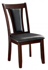 Brent by Furniture of America CM3984DK-SC Dining Chairs Set of 2