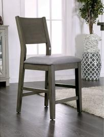 Anton II by Furniture of America CM3986PC Counter Height Bar Stool Set of 2