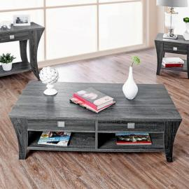 Amity by Furniture of America Gray CM4085-C Coffee Table