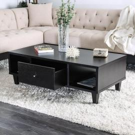 Delores by Furniture of America Espresso CM4086C Coffee Table