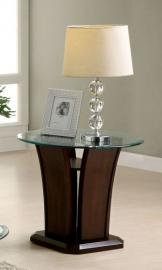 Manhattan IV by Furniture of America CM4104E End Table