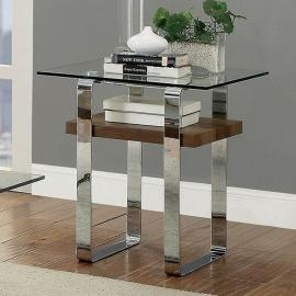 Elspeth by Furniture of America CM4157E End Table