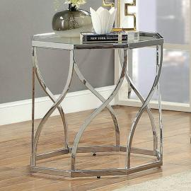 Evaline by Furniture of America CM4158E End Table