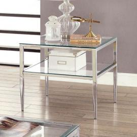 Tankia by Furniture of America CM4162CRM-E End Table