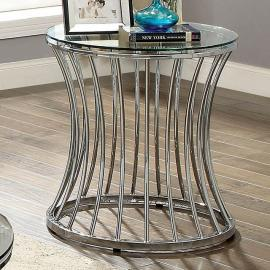 Esme by Furniture of America CM4172E End Table
