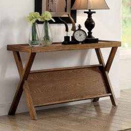 Caitlan by Furniture of America Light Oak CM4177S Sofa Table