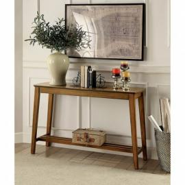 Hattie by Furniture of America Medium Oak CM4180S Sofa Table