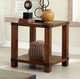 Broadus I by Furniture of America CM4227E End Table
