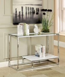 Vendi Collection CM4231WH Sofa Table