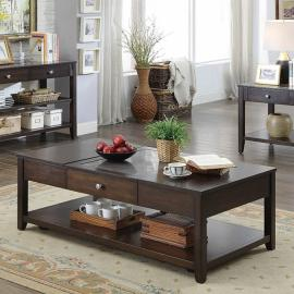 Genesis by Furniture of America Espresso CM4255C Lift Top Coffee Table