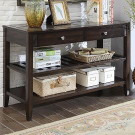 Genesis by Furniture of America Espresso CM4255S Sofa Table