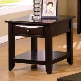 Baldwin by Furniture of America CM4265DK-E End Table