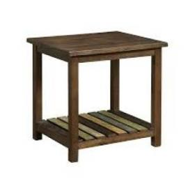 Mina by Furniture of America CM4317E End Table Medium Weathered Oak