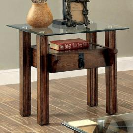 Penny by Furniture of America CM4318E End Table