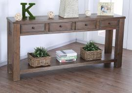Meadow by Furniture of America Oak CM4327A-S Sofa Table