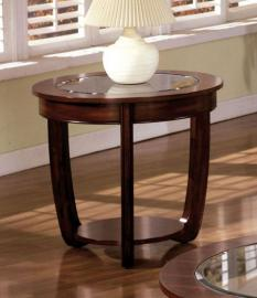 Crystal Falls by Furniture of America CM4336E End Table