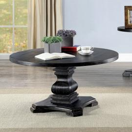 Isabell Antique Black Finish by Furniture of America Collection CM4340C Coffee Table
