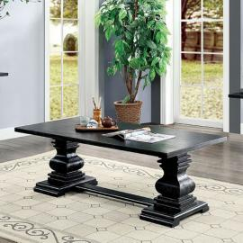 Mirabel Antique Black Finish by Furniture of America Collection CM4341C Coffee Table