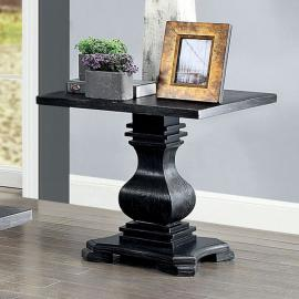 Mirabel Antique Black Finish by Furniture of America  Collection CM4341E End Table