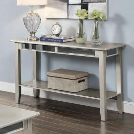 Celestine Silver Finish by Furniture of America  Collection CM4347S Sofa Table