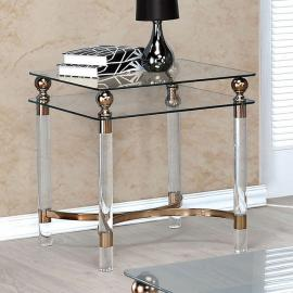 Castlebar by Furniture of America CM4352E End Table