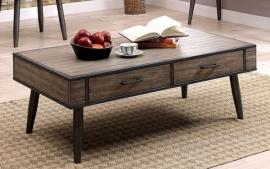 Vilhelm II by Furniture of America Gray CM4360C Coffee Table