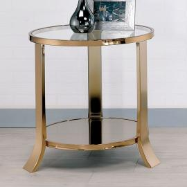 Rikki by Furniture of America CM4371E End Table