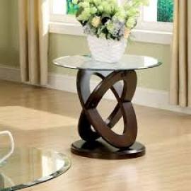 Atwood by Furniture of America CM4401E End Table