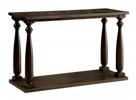 Luann by Furniture of America Dark Walnut CM4420S Sofa Table