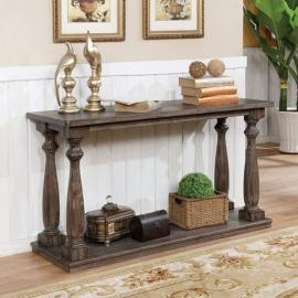 Tammie by Furniture of America Gray CM4421GY-S Sofa Table